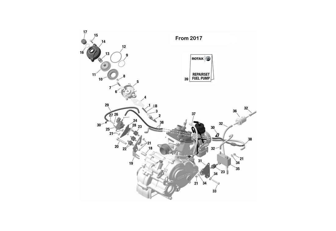 E-RAVE / FUEL PUMP 2017