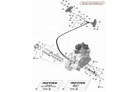 COMMANDE VITESSES / TRANSM - ROTAX 125 DD2 EVO
