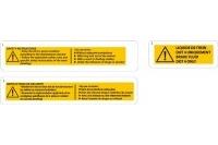 SAFETY STICKERS - SODI SIGMA S1