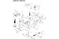 CADRE 32-PLANCHER-PEDALES - SODI SIGMA DD2 2012-2014