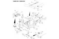 CADRE 30-PLANCHER-PEDALES - SODI SIGMA DD2 2012-2014