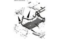 CADRE-PLANCHER-PEDALES - SODI SIGMA RS3 2018-2021