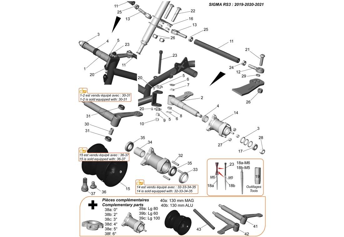 FRONT AXLE 2019-20