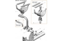 EXHAUST SUPPORT-X30 - SODI SIGMA RS3 2018-2021