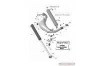 EXHAUST SYSTEM - ROTAX 125 DD2 EVO