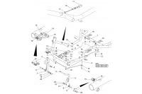 CADRE-PLANCHER-PEDALES - SODI SIGMA S3 2014