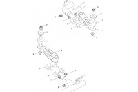 EXHAUST SUPPORT-ROTAX - SODI SIGMA S3