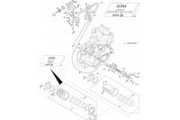STEERING WHEEL HUB-SHIFTING 10 - ROTAX 125 MAX DD2