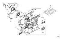 CYLINDER BARREL - HONDA GX120 QHQ4 MINIKART