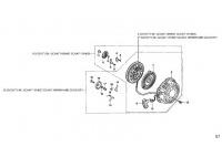 STARTER ASSY - HONDA GX120 QHQ4 MINIKART