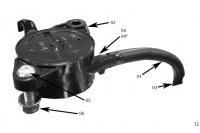 FUEL PUMP - HONDA GX120 QHQ4 MINIKART
