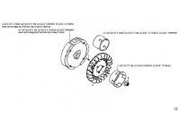 FLYWHEEL - HONDA GX120 QHQ4 MINIKART