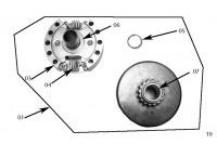 EMBRAYAGE - HONDA GX120 QHQ4 MINIKART