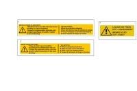 STICKERS DE SECURITE - SODI ST30/ST32 BV 2009-2012