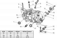 GEAR BOX-CLUTCH DRIVE - TM KZ10 KZ10B KZ10ES