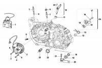IGNITION-GEAR BOX - TM KZ-R1