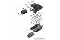 INTAKE SILENCER - ROTAX 125 MAX EVO