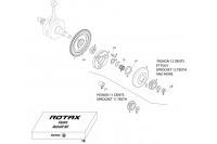 EMBRAYAGE - PIGNON 2009 - ROTAX 125 MAX-J125-MINI-MICRO
