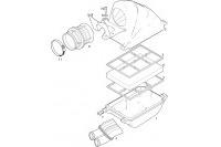 INTAKE SILENCER - ROTAX 125 MAX-J125-MINI-MICRO