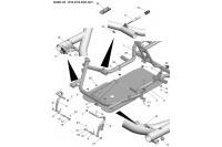 CADRE-PLANCHER-PEDALES - SODI SIGMA KZ 2018-2021