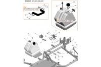 FRAME-FUEL TANK-ENGINE MOUNT - SODI SIGMA KZ 2018-2021