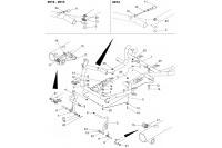 CADRE-PLANCHER-PEDALES - SODI SIGMA KZ 2012-2014