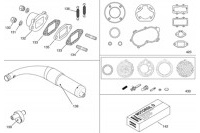 EXHAUST / GASKETS 2018 - IAME X30