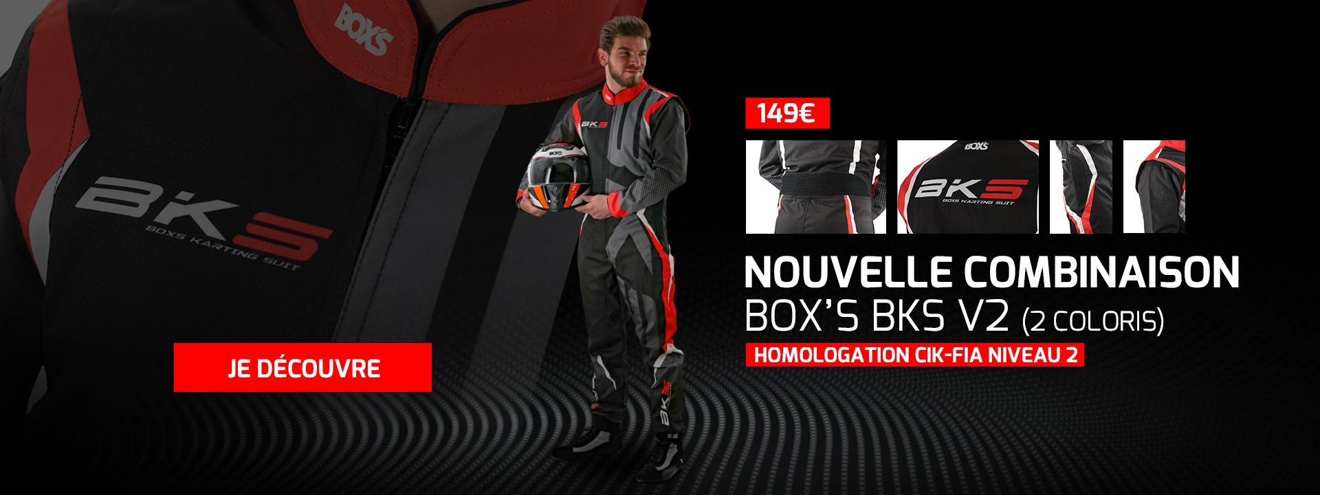 Nouvelle combinaison BOX'S BKS V2