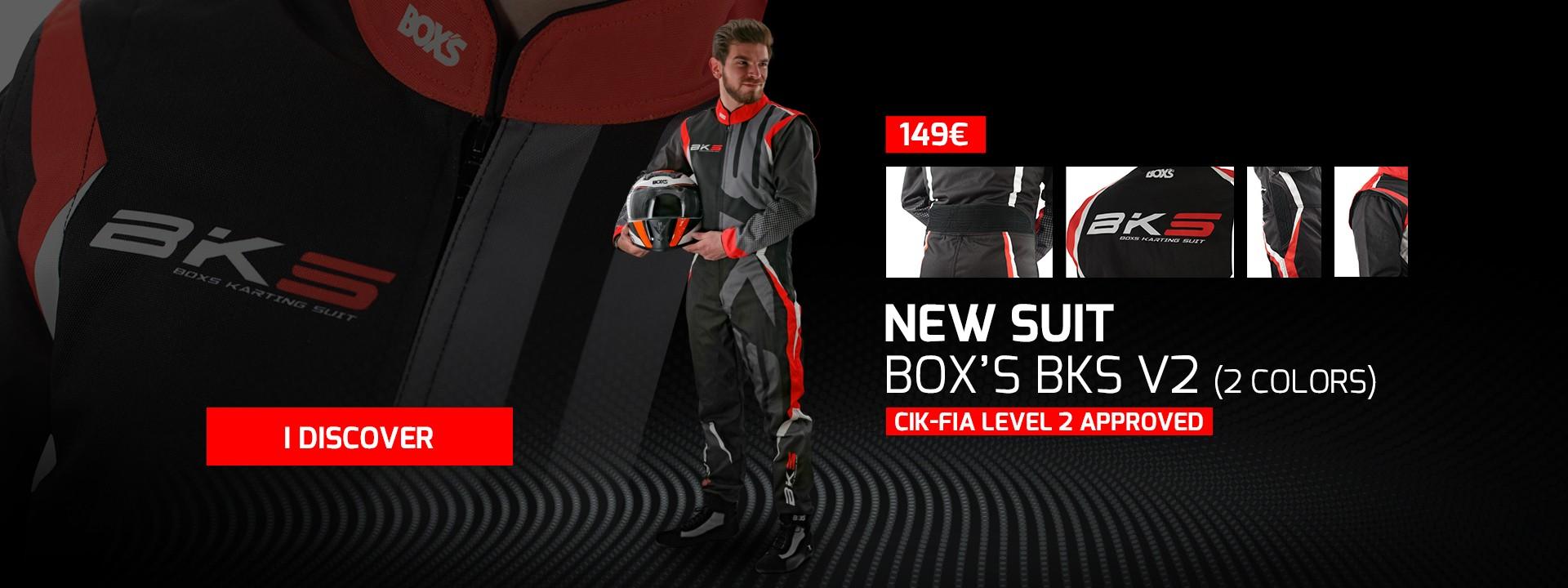New BOX'S BKS V2 suit
