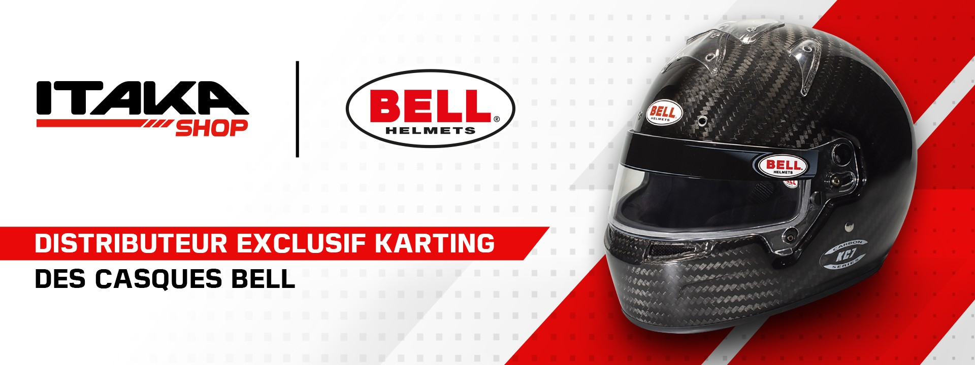 Distributeur Exclusif Karting casques BELL